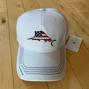 6f1d4d4dc7446a Tommy Bahama Accessories | Hat Blue With White Mesh Nwt | Poshmark